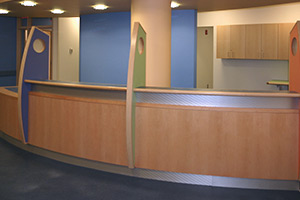 Children's Hospital Waltham reception
