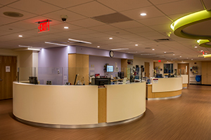 Dana Farber Pediatrics treatment area