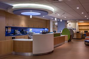 Dana Farber Pediatrics waiting room