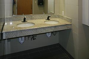 HSPH restroom sink