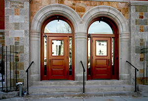 Harvard School of Public Health exterior door restoration