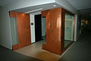 Harvard Radcliffe Copper Door