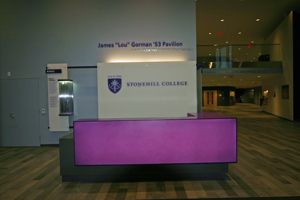 Stonehill College Desk