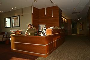 NEU President's Office desk