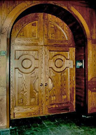 Old City Hall Door