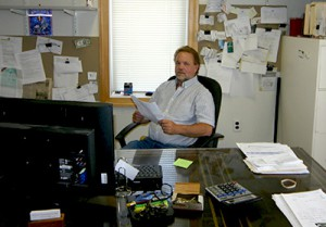 Caliper owner Bruce Guckert