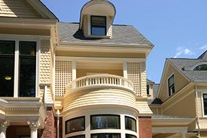 Ronald McDonald House exterior restoration