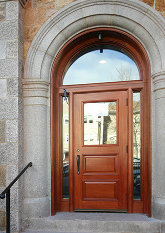 Renovated door at 95 Smith St