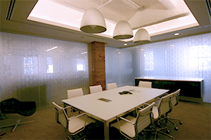 Argo Group interior glass wall